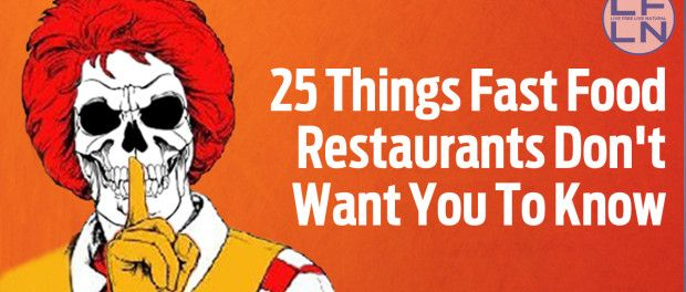 Are You Still Eating Fast Food? Then You Have To Know About Following Facts No One Will Tell You Written by: Brandon C. Nowadays, Fast food is the preferred choice, but how safe is this food? Sometimes does the industry cut out corners just to make a quick buck, and one of these corners is your health. Here is a list of 25 things …