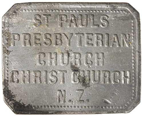 New Zealand / CHRISTCHURCH (CANTERBURY), St Pauls Presbyterian Church,  undated (c1860