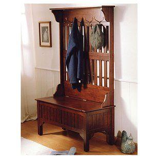 Shop Wayfair for the best hall tree coat rack storage bench. Enjoy Free Shipping on most stuff, even big stuff.