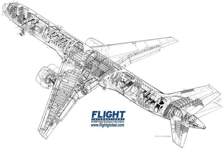 boeing 757 200 cutaway drawing airliner cutaway drawings. Black Bedroom Furniture Sets. Home Design Ideas