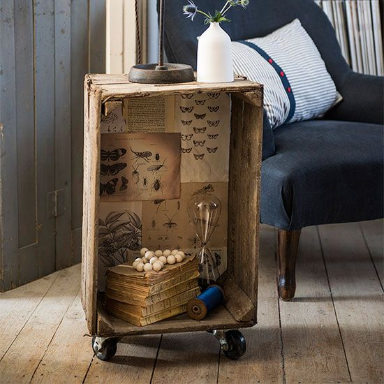 17 Best Images About Repurposed Furniture On Pinterest: 17 Best Images About Crates As Furniture On Pinterest