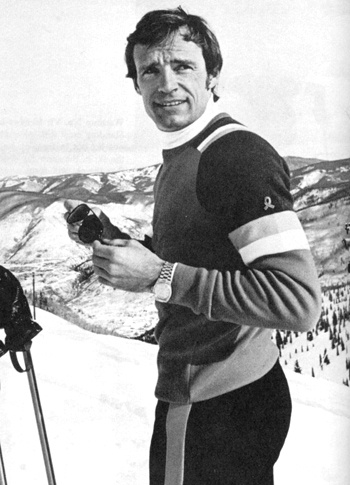 Jean-Claude Killy (born August 30, 1943) is a former French World Cup alpine ski racer. Born in Saint-Cloud, Hauts-de-Seine, he dominated the sport in the late 1960s. He was a triple Olympic champion, winning the three alpine events at the 1968 Winter Olympics, becoming the most successful athlete there.
