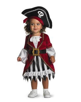 Shopping Girl Guru: 2013 Top Baby Pirate Halloween Costumes