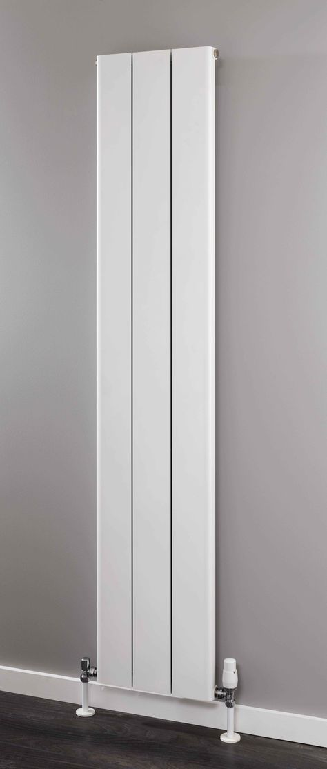 Introducing the new Supplies 4 Heat Radcliffe Vertical Aluminium Radiator, with a Italian design and manufacture with a ultra slimline extruded aluminium profile. Available in 2 different heights and 3 varying widths, and available in either a Textured Matt White finish or RAL 9007 Grey Aluminium finish. Complete with a 5 year guarantee.