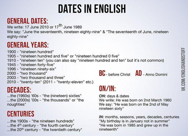 English and Stuff