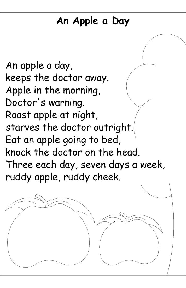 12 Best Images About Apple Rhyming For Kids On Pinterest
