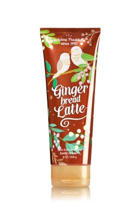 Gingerbread Latte - Ultra Shea Body Cream - Signature Collection - Bath & Body Works - Infused with luxuriously rich Shea Butter, our Ultra Shea Body Cream provides 24 hours of nourishing moisture. With soothing Aloe Butter, pampering Cocoa Butter and more Shea than ever before, our non-greasy formula melts into skin to provide beautiful fragrance and all day, all night hydration.