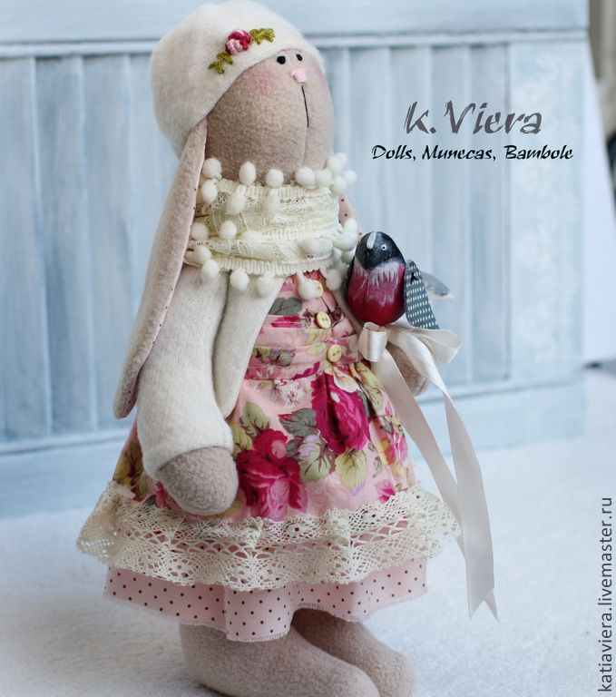 Заяц Тильда Розалинда - тильда,кукла ручной работы,кукла Тильда,кукла интерьерная