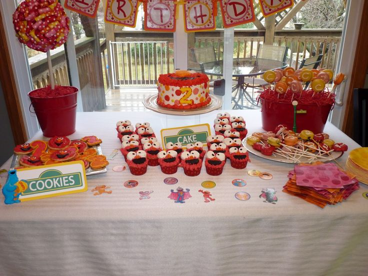 81 Best Images About Elmo Candy Table On Pinterest Pink
