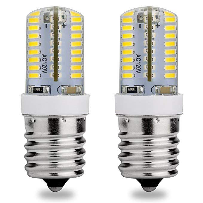 E17 Intermediate Base Led Bulb 120v Ac Daylight White 6000k 3 Watt 25w Microwave Oven Replacement Bulbs Freezer Applia Led Bulb Microwave Oven Light Bulb