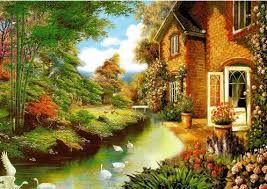 Resultado de imagen para casa paisajes