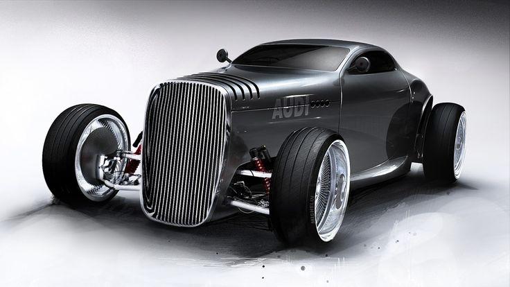 Mikael Lugnegard Audi Concept 7, Holy crap!