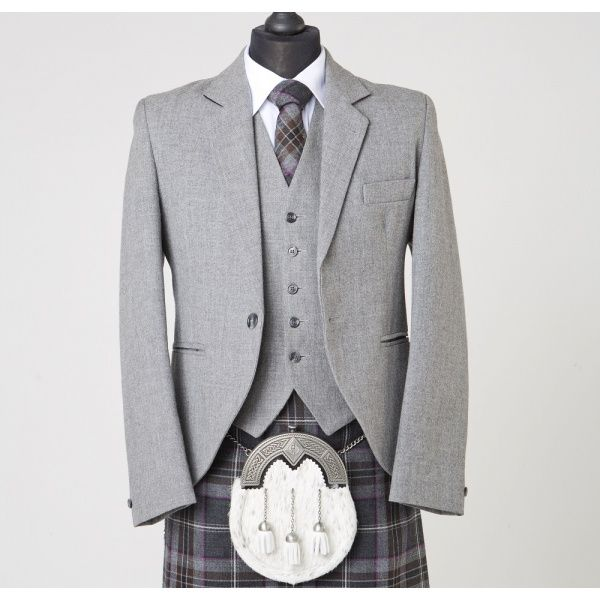 Lomond Grey Tweed Jacket & Waistcoat                                                                                                                                                                                 More
