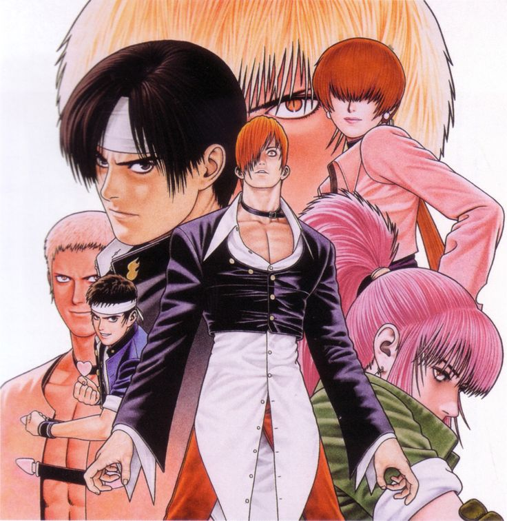 King of Fighters 97 by Shinkiro