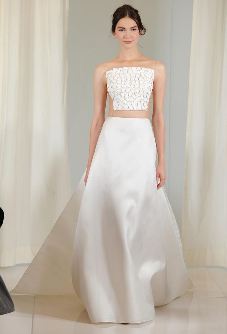 Best 25 structured wedding dresses ideas on pinterest best angel sanchezs structured wedding dresses for fall 2016 are a must see ombrellifo Image collections