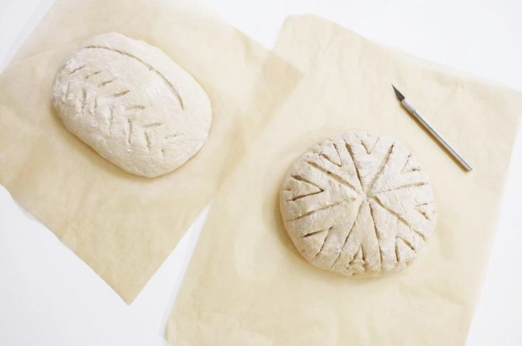 The fun part of sourdough bread making is definitely the scoring! Creating these patterns is very meditative. If you are interested in learning to make your own sourdough loaf check the recipe and instructions on Jonny Hetherington Essentials.