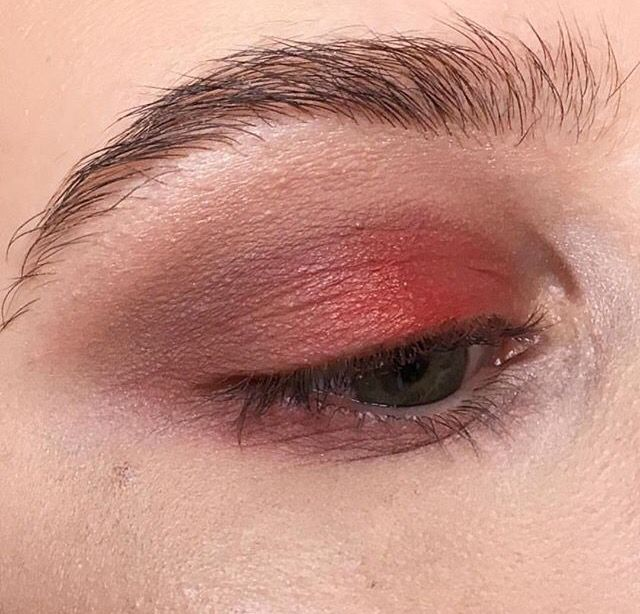 Suede on the eye