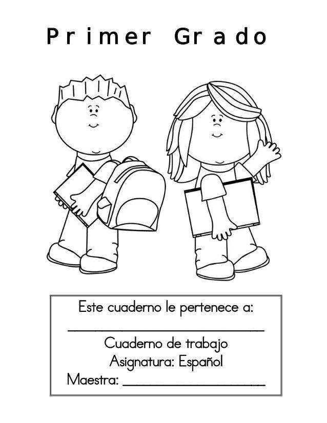 Cuaderno de Trabajo Primer Grado by Olga Martínez via slideshare