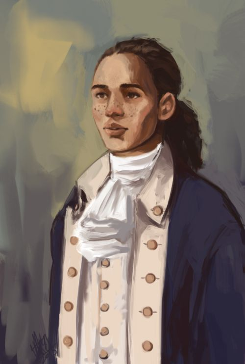 """I may not live to see our glory"" ""Anthony Ramos as John Laurens PS CS5 "" Hamilton 