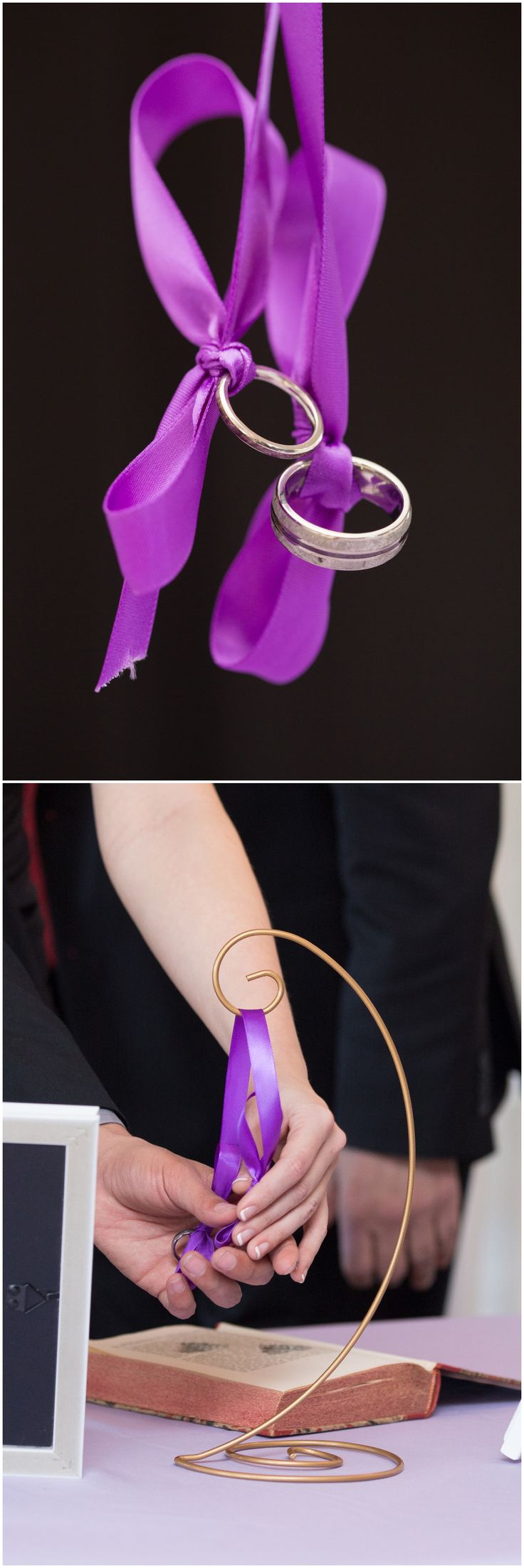 I love this idea - ask your guests to participate in a ring warming ceremony before they sit down for the ceremony! • Wedding Ring Warming • Ring Warming Ceremony • Wedding Band Ideas