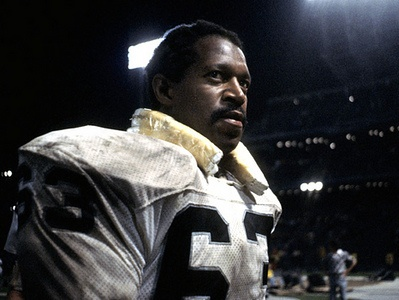 Gene Upshaw (G) Raiders - First Year: 1967 - 14 seasons - Drafted: Round 1, Pick 17  Long-time NFL Player's Association President