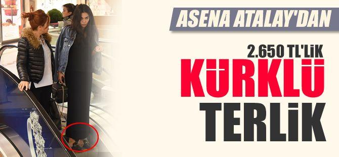 Asena Atalay modaya uydu, kürklü terlik giydi.  http://www.noktamagazin.com/asena-atalay-modaya-uydu-kurklu-terlik-giydi-haber-253.htm