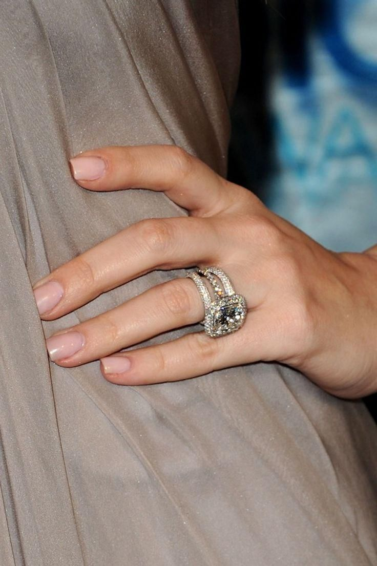 The most outrageously beautiful celebrity engagement rings