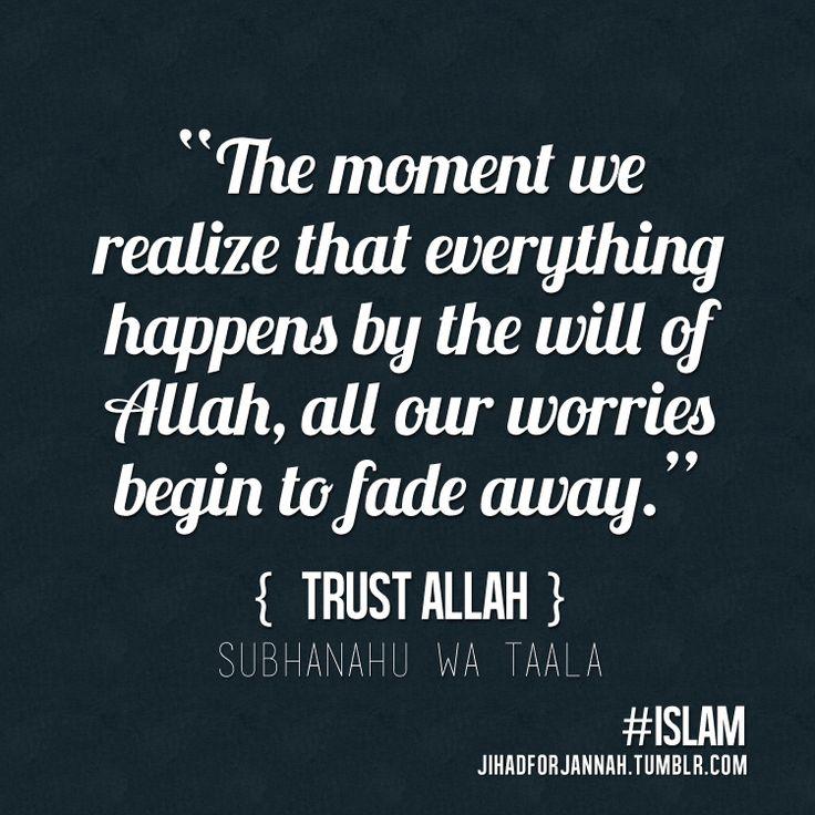 Trust In Islam Quotes: Islam: The Religion Of Peace