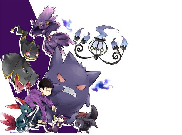 Osomatsu-san- Ichimatsu #Anime「♡」Pokemon