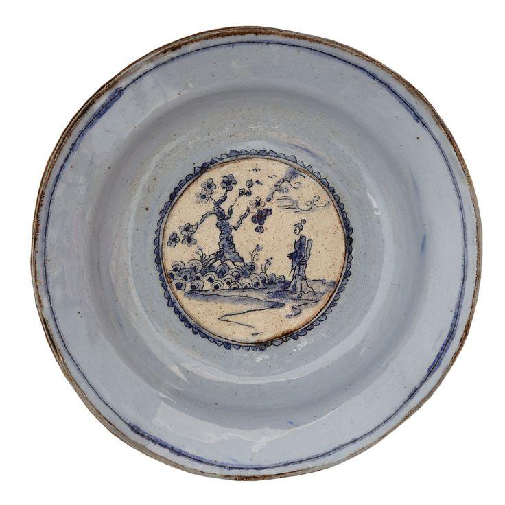 An original ceramic work by Lisa Ringwood entitled: 'Small Blue Plate I', ceramic, d 18cm For more please visit www.finearts.co.za #ceramic #LisaRingwood #Ceramicist #SouthAfricanArt #SouthAfricanArtist #ChineseCeramics #InteriorDesign #Decor #Decoration #Landscape #Fauna #Flora #Birdlife #VOCware