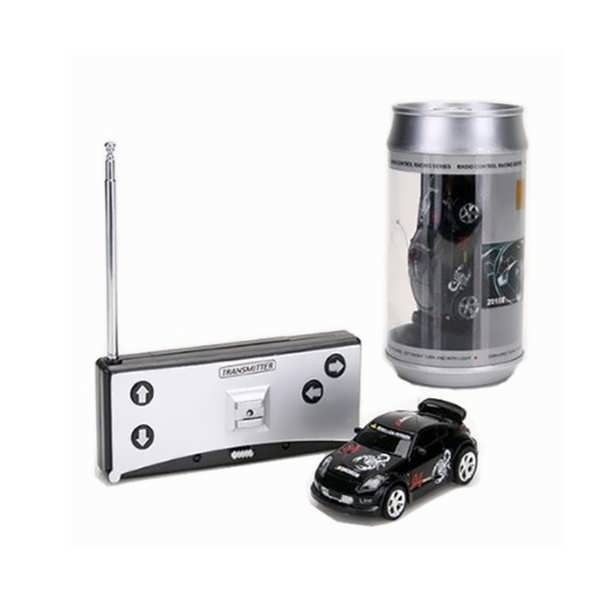 """Coke Can Mini RC Radio Remote Control Micro Racing Car            Description:  Car size: Approx. 3.15"""" x 1.35"""" x 0.75""""  Can size: Approx. 2.5""""/65mm(Dia) x 4.75""""/12mm(H)  Power (Car): Built-in rechargeable battery (included)  Power (Controller):..."""