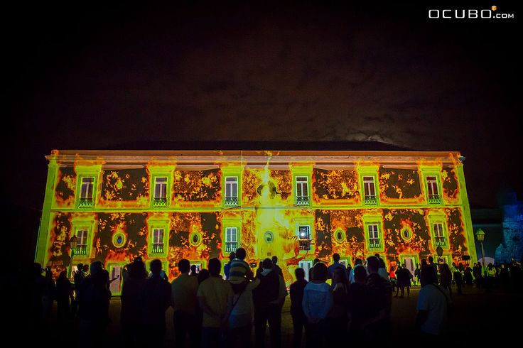 4 Elements - an 360-degree immersive multimedia show at Citadel of Cascais.