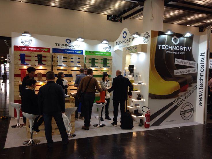 A+A - Düsseldorf: TECHNOSTIV. Ricerca, analisi, promozione e comunicazione. Progettazione e realizzazione dell'allestimento dello stand. Photo by honegger