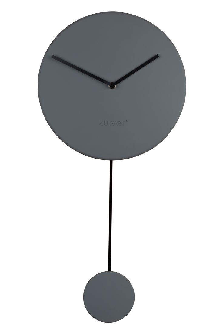 Minimal clock - Grey #Clock#Orloge#Uhr#klok