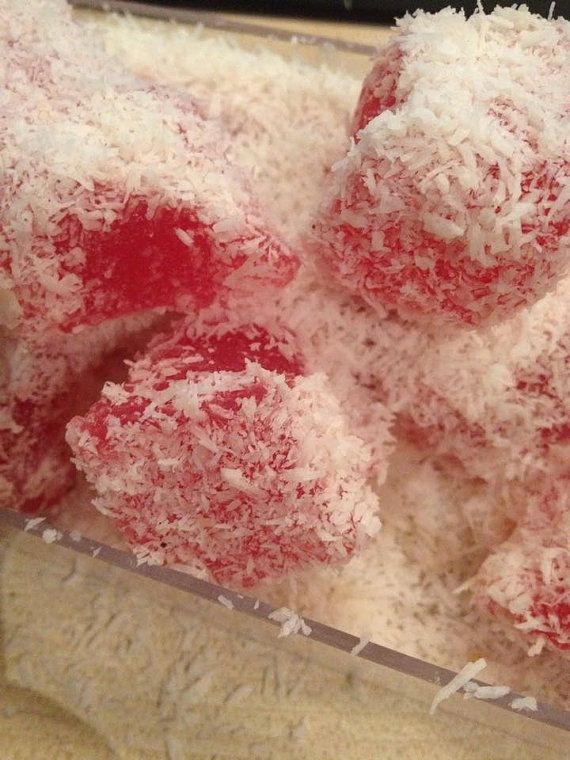 Traditional Greek/ Turkish Delights with rose and by Armenos
