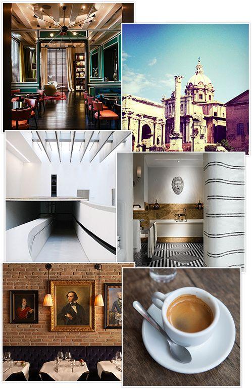 Guide des meilleures adresses à Rome Italie café hôtels restaurants http://www.vogue.fr/voyages/adresses/diaporama/les-meilleurs-htels-restaurants-bars-rome/20432