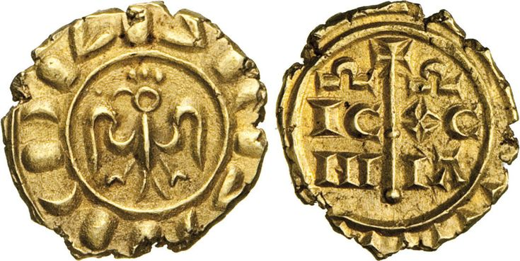 NumisBids: Numismatica Varesi s.a.s. Auction 65, Lot 419 : MESSINA - FEDERICO II DI SVEVIA (1197-1250) Multiplo di Tarì. D/...