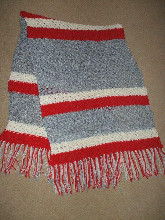 Trinity stitch Prayer shawl