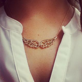 Angel by my side with the  Bellissimo Angelo Necklace by Stella  Dot