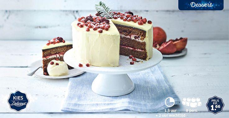 Red velvet cake #redvelvet #cake #Lidl #Delicieux #Kerst