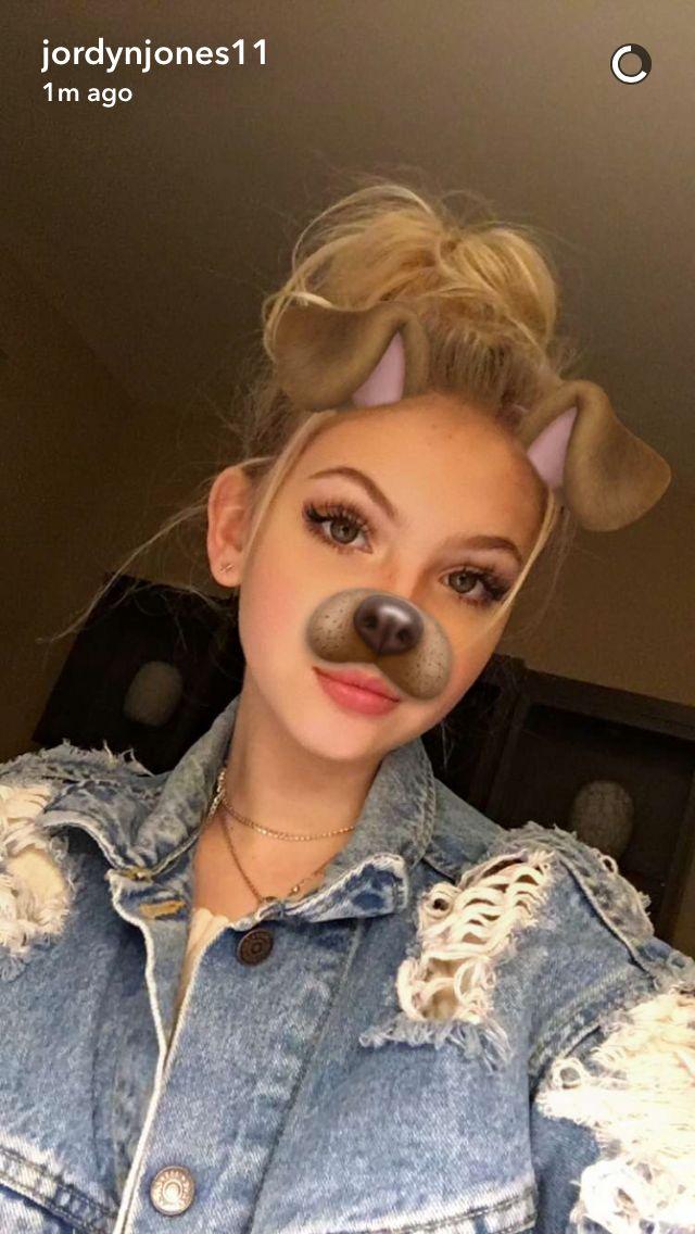 Nikeyybabygirl  Jordyn Jones Snapchat, Snapchat Selfies-7112