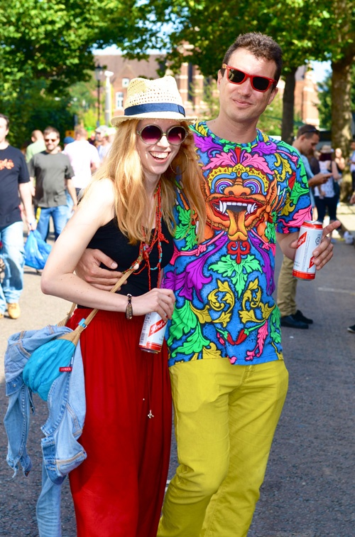 StreetStyle Carnaval Notting Hill for L'Officiel Paris