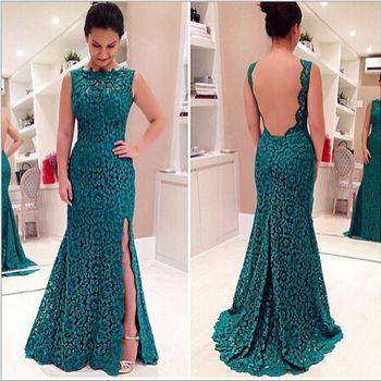 vestidos longos para festas verde água