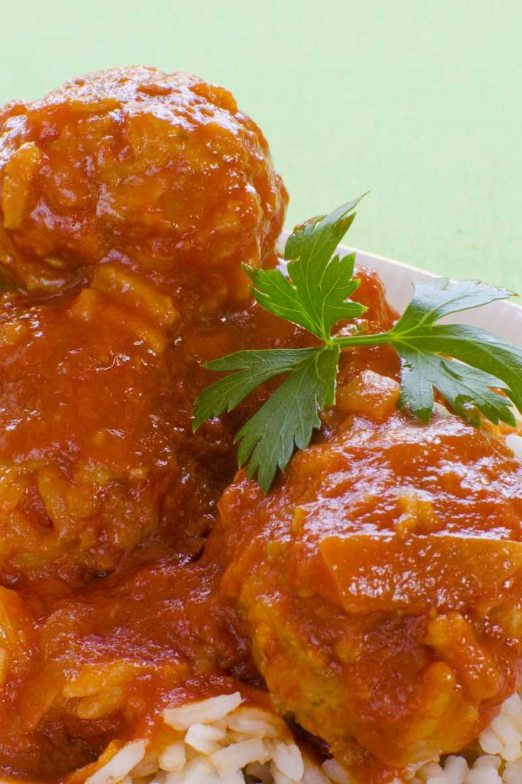 Sweet and Sour Turkey Meatballs (Weight Watchers)
