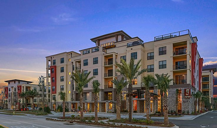 architectural photography multi family apartment community by architectural photographer