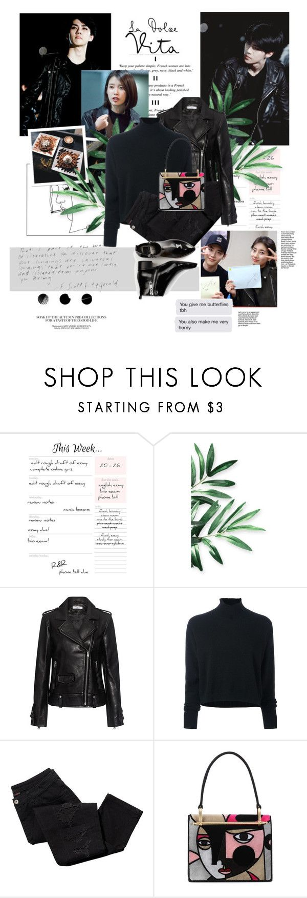 """A Little Something (Ji Soo and Soo Young )"" by the-greatest-love ❤ liked on Polyvore featuring IRO, Le Kasha, Avon, Prada and Dolce Vita"