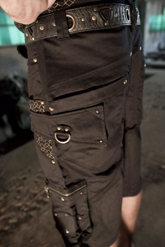 Diamond shorts Mens skate shorts Doof shorts by SerpentineWear