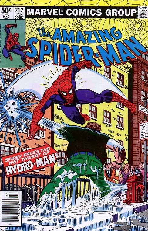 The Amazing Spider-Man (Vol. 1) 212 (1981/01)