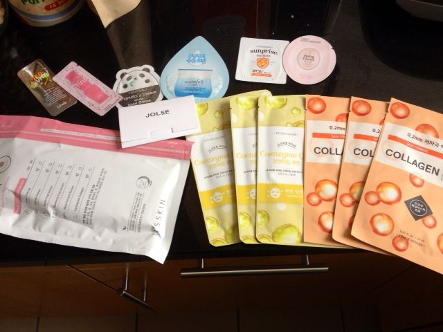 Face mask galore!