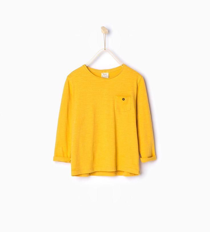 오가닉 코튼 티셔츠